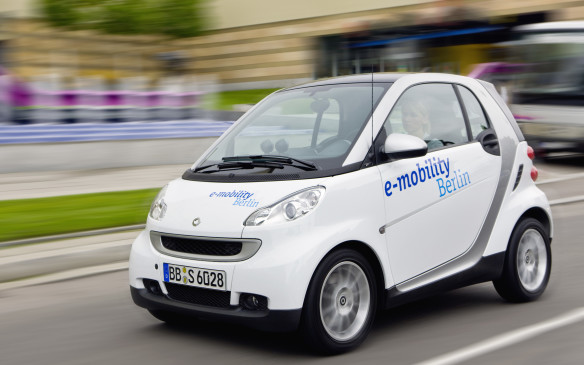 <p> </p> <ol> <li><strong> Smart ForTwo Electric Drive –</strong> The Mercedes-Benz Smart ForTwo Electric Drive (ED) once again tops the list with the highest green score ever. Did you know the Smart car was originally designed to be an electric vehicle? Neither did we, but there you go. Available in coupe and cabriolet forms, the ED uses a 74-hp electric motor that handily powers this Lilliputian two-seater. Better yet, its 96 lb-ft of torque is available as soon as you tip the accelerator, making it a spunky urban commuter. You're driving half a car, after all.</li> </ol>