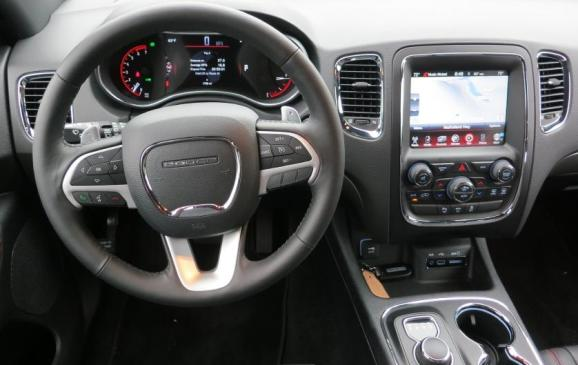 2014 Dodge Durango - steering wheel and instrument panel