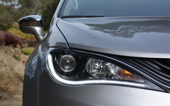 <p>LED lighting is standard equipment both front and the rear.</p>