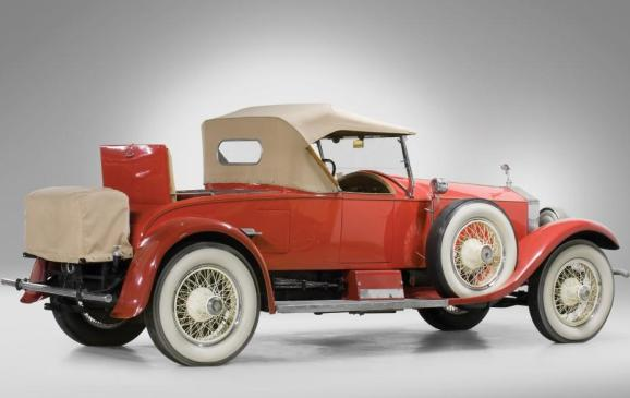 Old Cars - 1925 Rolls-Royce Silver Ghost Piccadilly Roadster