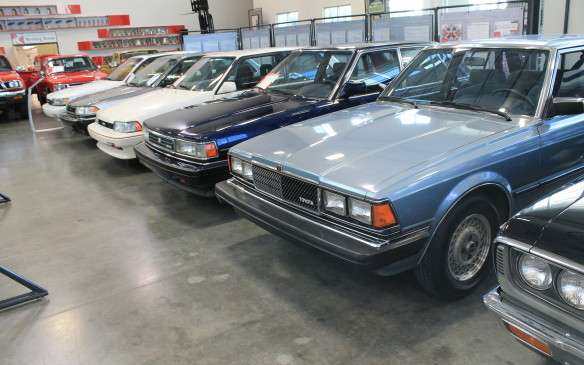 <p>The collection is moving soon, however. Toyota is relocating its U.S. head office from California to Plano, Texas, near Dallas, and this remarkable museum collection will be packed up and moved to another building there.</p>