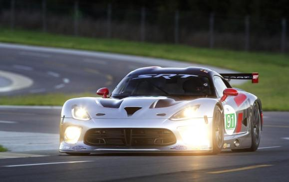 2013 SRT Viper GTS-R race car