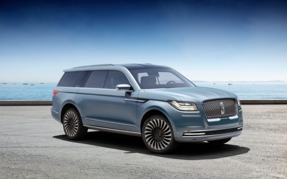 "<p><strong>Lincoln Navigator Concept –</strong> There's a lot that's fanciful about the Lincoln Navigator Concept – the gull-wing doors were never intended to make it to production, for example, and the ""wardrobe management system"" may not, either – but there's also plenty about it to be taken seriously. The serene interior design is a new hallmark of the brand, the promised 3.5-litre twin-turbo V-6 engine is already in use under the Ford EcoBoost banner, and the second- and third-row seatback entertainment systems would be a great addition.</p>"