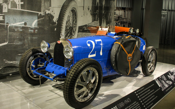 <p>Supercharged Type 35C models, like this one in the Petersen Museum,  were consistent Grand Prix winners in the 1928-30 time frame, while they and other Type 35 variants dominated the Italian Targa Florio cross-country races of the period.</p>