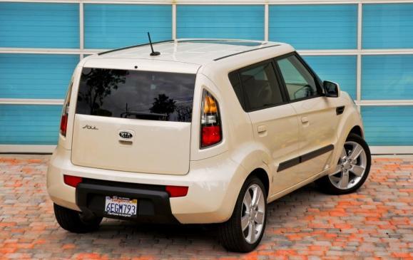 2013 Kia Soul - rear 3/4 view high