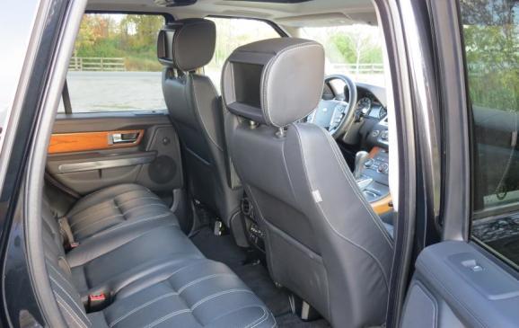 2012 Range Rover Sport - rear seats