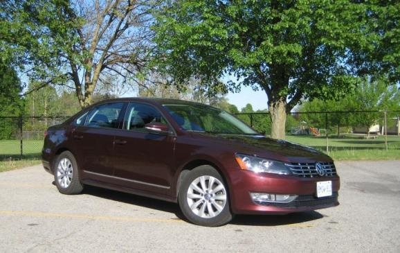 2012 Volkswagen Passat TDI - Front