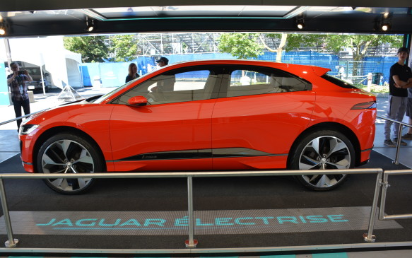 <p>The Jaguar electrification story will continue with its first-ever all-electric vehicle – the I-Pace SUV – which is scheduled to be released in mid-2018. Design elements of the I-Pace concept are not found in the I-Type race car and vice versa, but that transfer of technology story will start to trickle throughout the rest of its upcoming electrified lineup.</p>