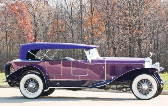 Old Cars - 1927 Isotta Fraschini Tipo 8A