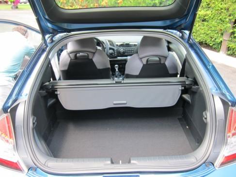 2011 Honda CR-Z  cargo