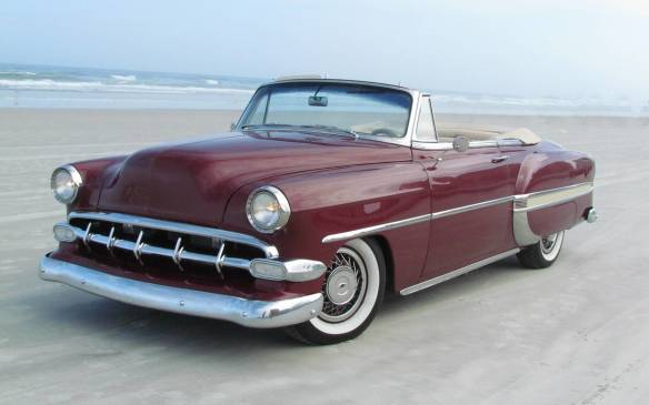 <p>It's a long way from Nova Scotia to Daytona Beach, and an equally long journey from the tattered remains of a 1954 Chevrolet Bel Air convertible to this gleaming beauty that now winters in Florida. Many of us have dreamed about restoring an old car, whether to original condition or modified to personal taste like this one, but few of us really know what's involved in doing it. Let's follow the process performed at the very professional shops of Alan's Upholstery and Auto Restoration in Liverpool, NS.</p>