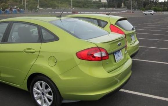 2011 Ford Fiesta hatch and sedan 2