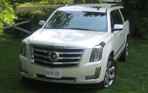 2015 Cadillac Escalade - front view