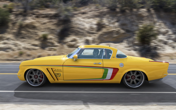 <p>A Texas firm, GWA Auto Design & Tuning of San Antonio, must have thought so too, for it plans to build 20 cars based on the Starliner design with just such modern updates, including a more contemporary greenhouse-to-body proportion. It works!</p>