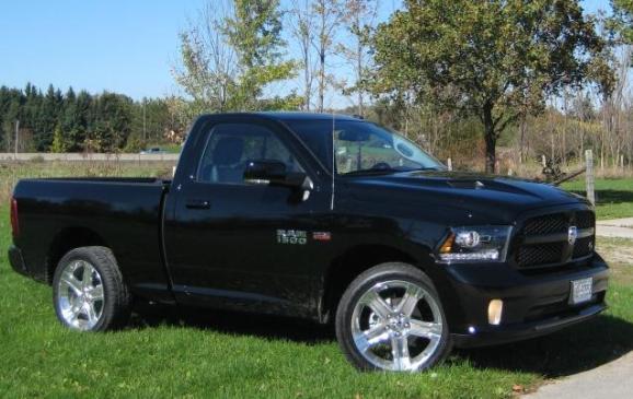 2014 Dodge Ram - side view