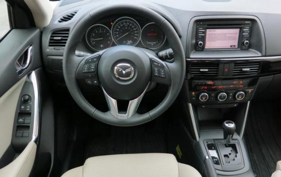 2014 Mazda CX-5 - steering wheel and instrument panel