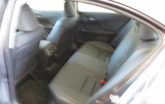2013 Honda Accord - rear seat