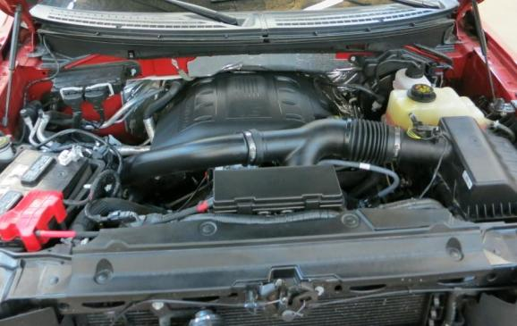 2013 Ford F-150 Limited - engine compartment