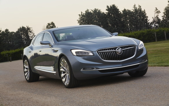 <p><strong>Buick Avenir Concept</strong></p> <p>It's been 20 years since Buick offered a rear-wheel-drive sedan, and the company is hoping to fix that problem if its Avenir Concept is any indication. The gorgeous full-size sedan brings touches of Bentley's ultra-lux offerings, with large sculpted rear fenders, a very long hood and 21-inch wheels at all four corners. The interior is dripping with beautiful touches, including a 12-inch screen, wireless charging for mobile devices and more. Power comes from a 'next-generation' V-6 engine with a nine-speed automatic transmission and an on-demand all-wheel drive system.  </p>