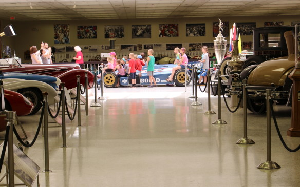 <p>There's something for everybody to see at the Indianapolis Motor Speedway Museum, and that includes kids. It's a popular destination for school class tours.</p>