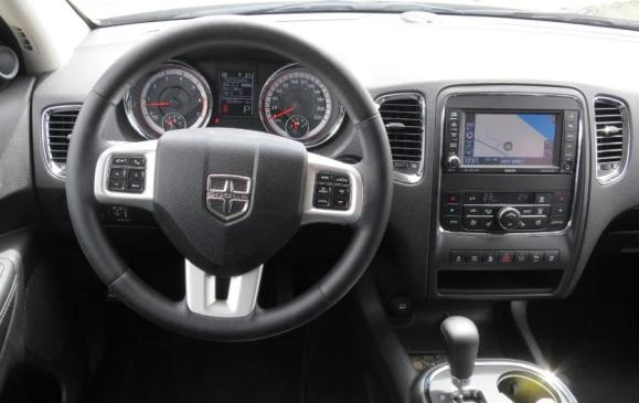 2012 Dodge Durango - steering wheel & instrument panel