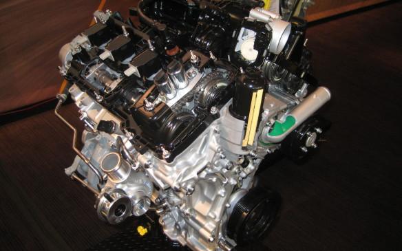 <p>2.7L EcoBoost V-6 engine</p>