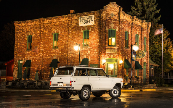 <p>The Jeep Wagoneer was introduced in 1963 and, like the wagon, stayed in production for two decades.</p>