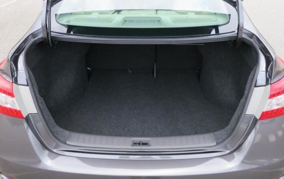 2013 Nissan Sentra - trunk