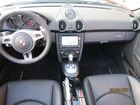 Porsche Boxster black edition 2011