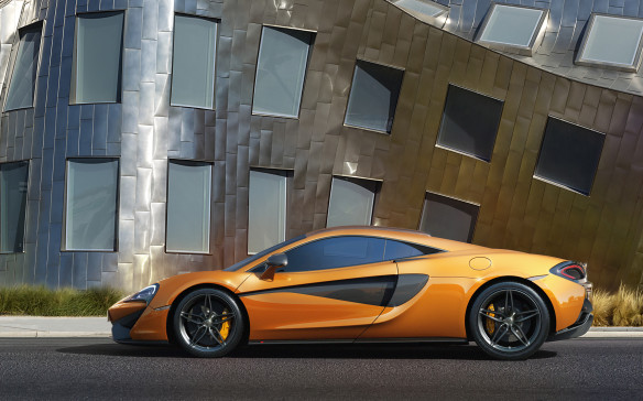 "<p>First customer deliveries of the new ""baby"" McLaren are still half a year away, and only four visually complete cars exist on the planet. But one of them – actually the same orange one that starred at the 570S's world debut in New York on April 1 – was on display this week at Pfaff's McLaren Toronto store in Woodbridge, Ontario. So of course we had to be there.</p>"