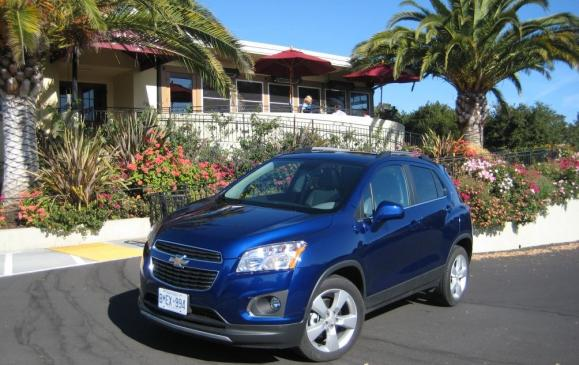 2013 Chevrolet Trax - front 3/4 view SCENIC
