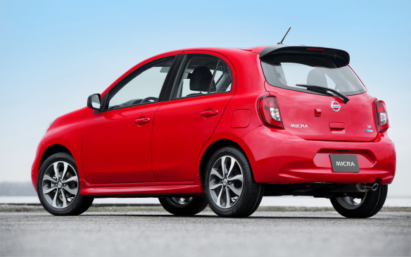 <p><strong></strong>Nissan's sub-compact Micra, with its starting price of less than $10,000 and sales of 2,536 units up 3.5% over 2015, ranked #37 for the period.</p>