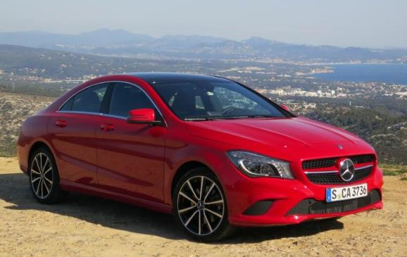 2014 Mercedes-Benz CLA - front 3/4 view