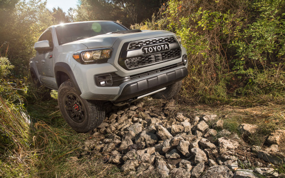 The 2017 Toyota TRD Pro series joins the Ford Raptor and Ram Rebel as factory-developed and warranted off-road oriented trucks.