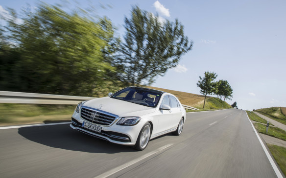 <p>The new software can recognize speed limits from its GPS location and from road signs seen by its cameras, and it can be set to automatically slow or speed up the car to drive at that posted speed. No more tickets!</p>