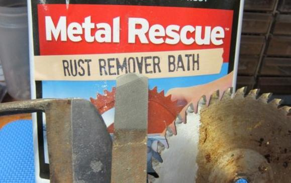 Metal Rescue Rust Remover Bath