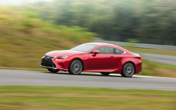 <p>This is definitely going to be a love-it-or-hate-it, but the divisive appearance of the Lexus RC is well worth the risk. Why? Typically-high levels of craftsmanship and features, and that big L badge holds plenty of appeal. Much better proportions than the old IS C, although a new convertible is surely coming soon.</p>