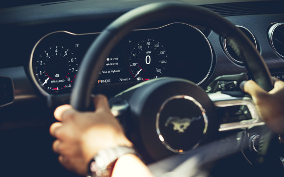 <p>The Ford design team spent more than 2,000 hours developing the look and features of the digital gauges display. Now that the Mustang is a global car, the display is available in 23 different languages.</p>