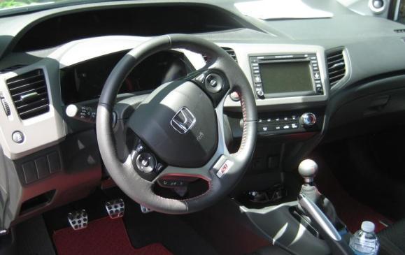 2012 Honda Civic Si HFP - Driver side