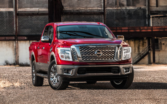 <p>Nissan went all-in on the light-duty pick-up game when it started mounting Cummins 5.0-litre V-8 diesel engines into the Titan XD. These engines produce 310 hp and 555 lb-ft of torque at 1,600 rpm. To get into a diesel model with a crew cab, the starting price is $53,400. Single cab models are available from $47,750.</p>