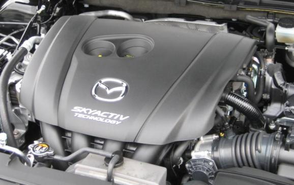 2014 Mazda3 - engine