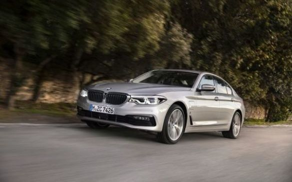 <p>The plug-in hybrid addition to BMW's 5 Series line-up, the 530e, arrives later this year. Few details have been announced regarding Canadian specifications and pricing, but what we do know is that the global powertrain is rated for 24 km of electric-only driving and a combined peak of 248 hp and 310 lb-ft. of torque.</p>