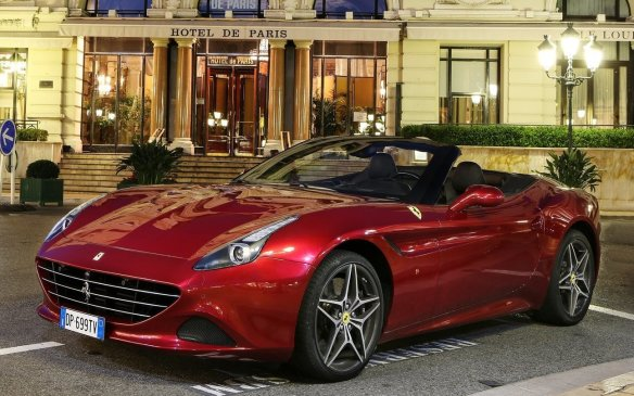 <p><strong>2015 Ferrari California T (Canadian debut) – </strong>Yes, even Ferrari is turning to turbocharging on more than its Formula 1 cars. The California T uses a twin-turbocharged 3.9-litre V-8 engine with 552 horsepower and a similar torque figure (lb-ft), mated exclusively to a new seven-speed dual-clutch automatic transmission. While never the most elegant Ferrari, the T also updates some of the California's more awkward details.</p>