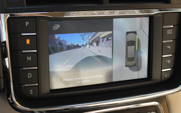 <p>The Technology package also includes a 360-degree surround camera system, lane-keeping assistance and even parking assistance. The Continental will park itself autonomously, both parallel to the curb on the street, and perpendicular in a parking lot. So will the Ford Edge, but this is still a remarkable feature.</p>