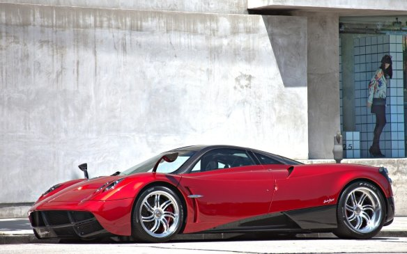<p><strong>2015 Pagani Huayra –</strong> After years dreaming jealously about being able to drive a Pagani Zonda in Canada, the Italian exotic's successor – the Huayra – is finally available here. The Huayra uses lots of active aerodynamic bits to help it feel stable at speeds of up to 370 km/h. It is propelled to those velocities by a 720-horsepower, twin-turbocharged V-12 powerplant sourced from Mercedes-Benz's AMG unit.</p>
