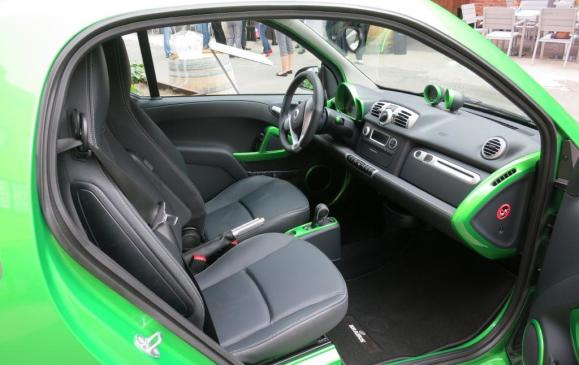 Smart fortwo electric drive - interior