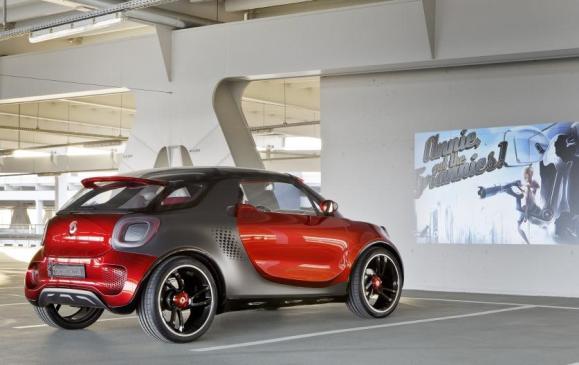 Smart Forstars Coupe Concept (Paris auto show) - Projection