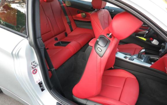 2014 BMW 435i Coupe - rear seat access