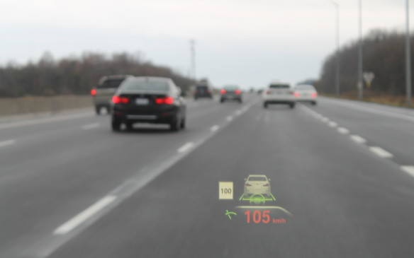 <p><strong></strong>If there's a slower car ahead, it will slow to that car's speed, lock onto it and follow it.</p>