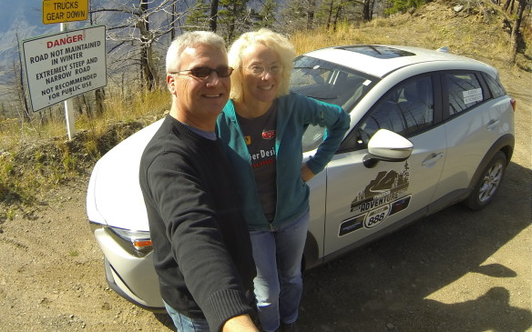 <p>There have been three previous Mazda Rallies, in the Colorado Rockies, the Appalachian Mountains, and in 2015, the B.C. Rockies. We competed together for the first time in the B.C. rally and came in second place, driving a Mazda CX-3, so we really wanted to win this one. One other previous team – the B.C. winners – were also there in Muskoka, and they were clearly the team to beat.</p>